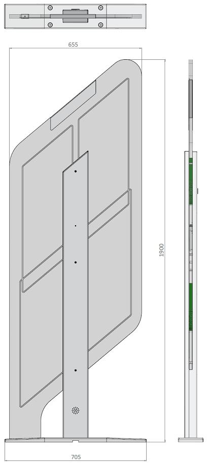 Diamond RFID Sicherungssystem