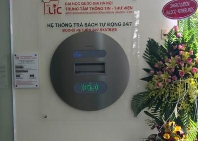 Installation Sapphire Bookdrop Vietnam