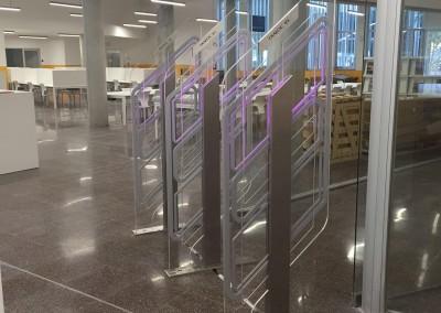 Diamond Hybrid EM/RFID Premium system, Universidad Politecnica de Catalunya,Spain