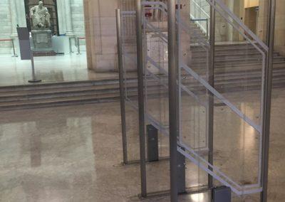 Hybrid EM/RF system Biblioteca Nacional, Madrid