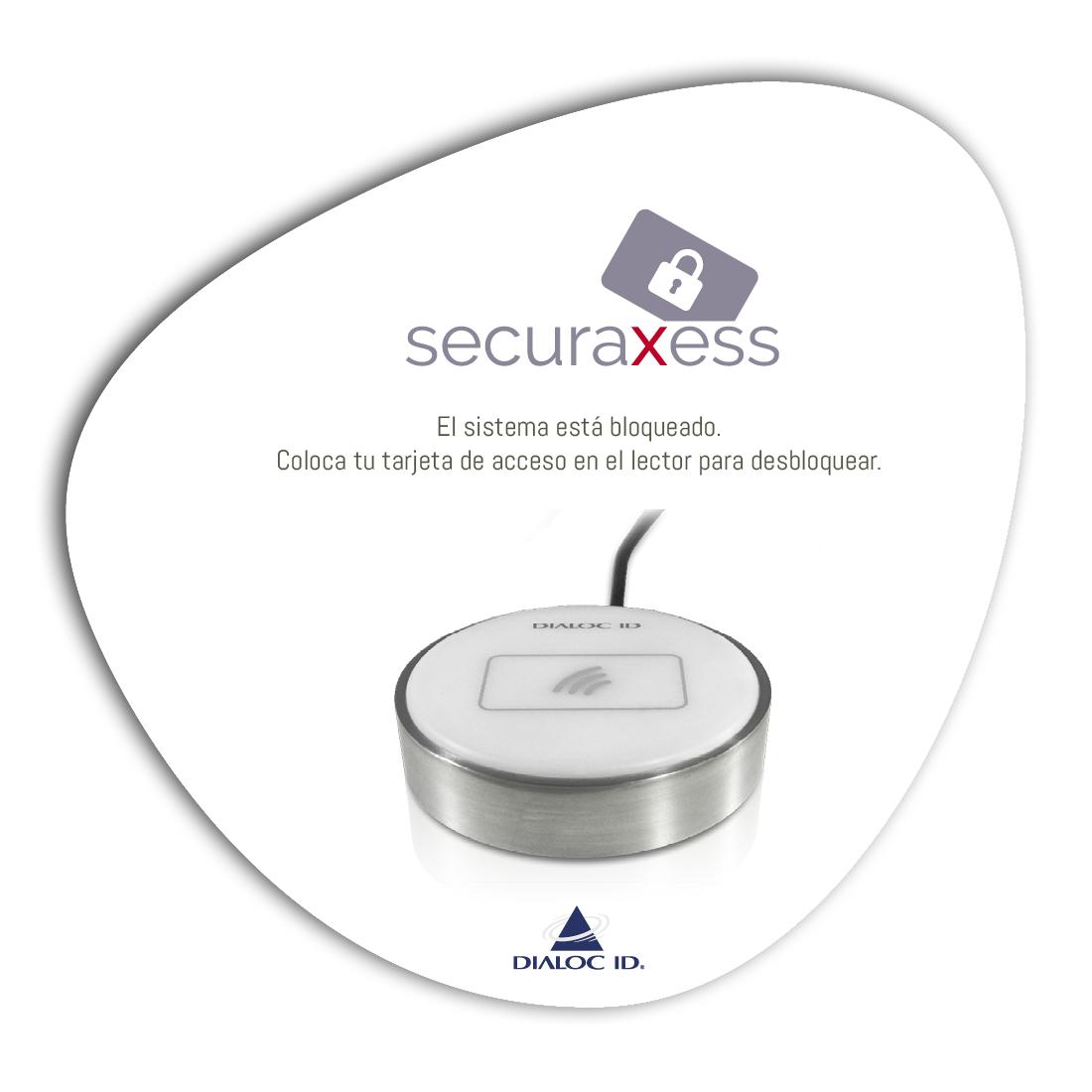 Seguridad de acceso de PC SecuraXess