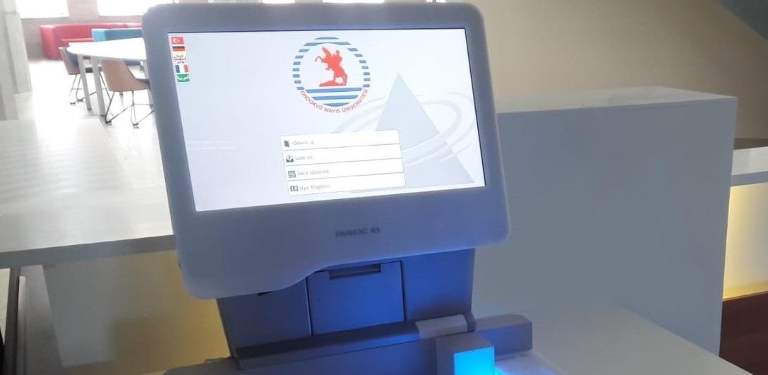 Sapphire RFID self service