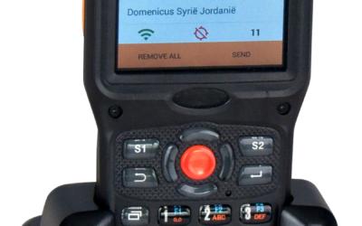 Nieuwe Topaz RFID handscanner