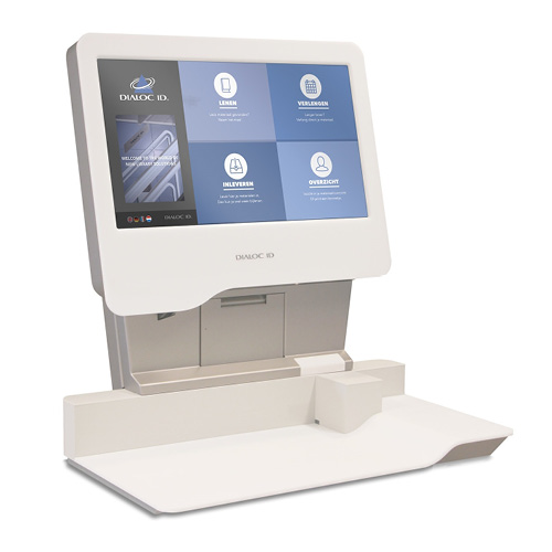 Sapphire RFID zelf service unit