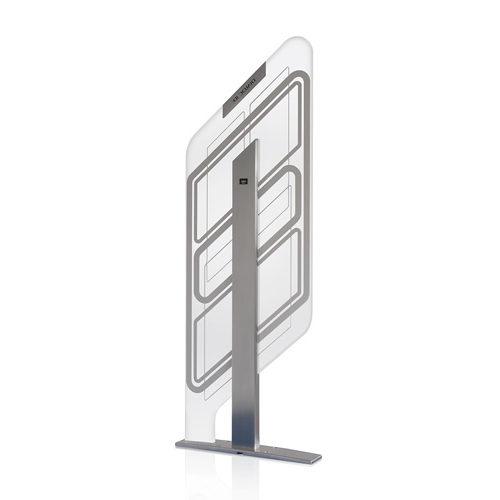 Diamond Hybride (EM/RFID) Premium beveiligingspoort