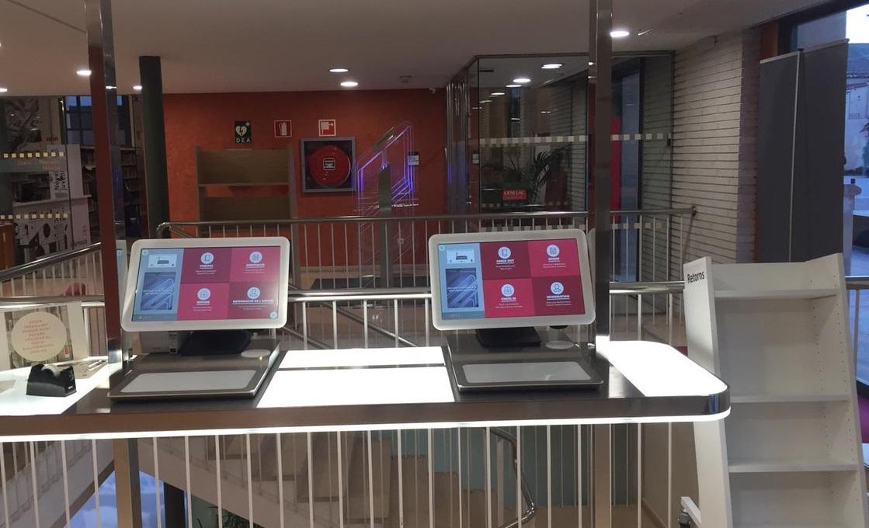 RFID Bibliotheekoplossingen self service